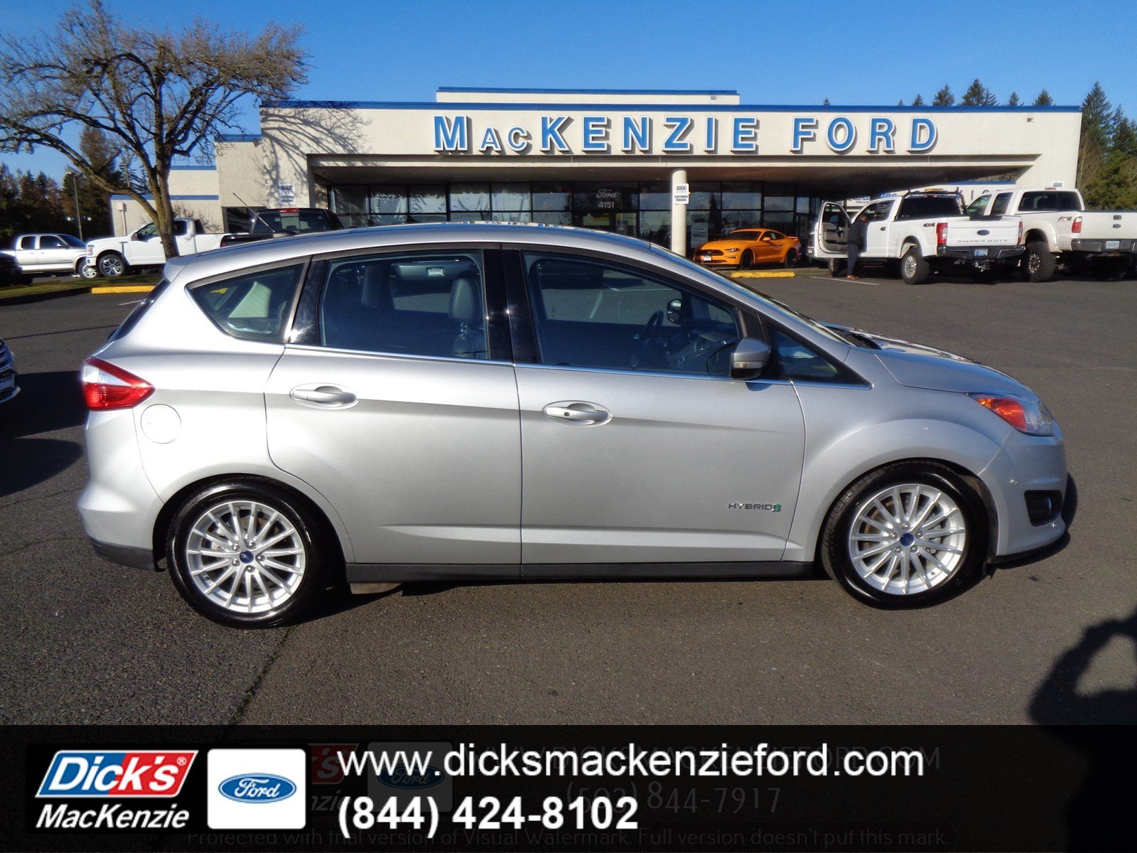Certified Pre Owned 2016 Ford C Max Hybrid Sel