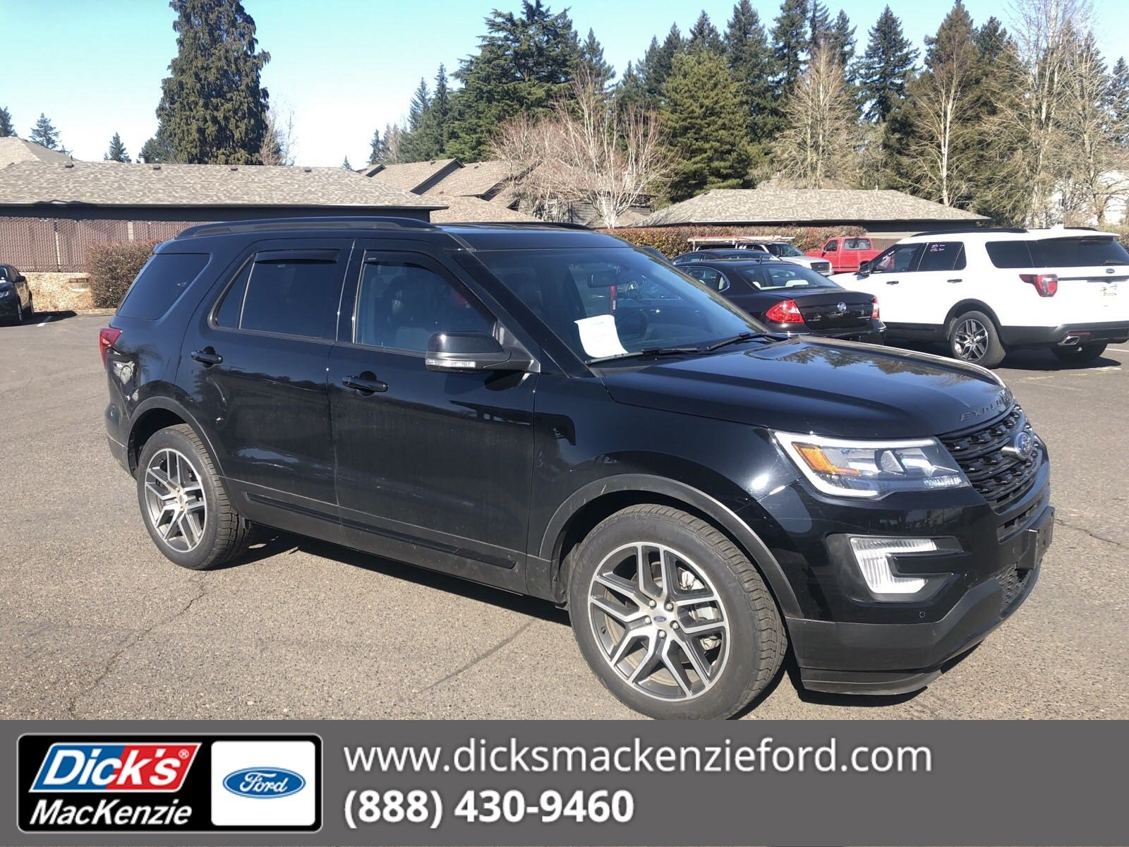 Certified Pre Owned 2017 Ford Explorer Sport