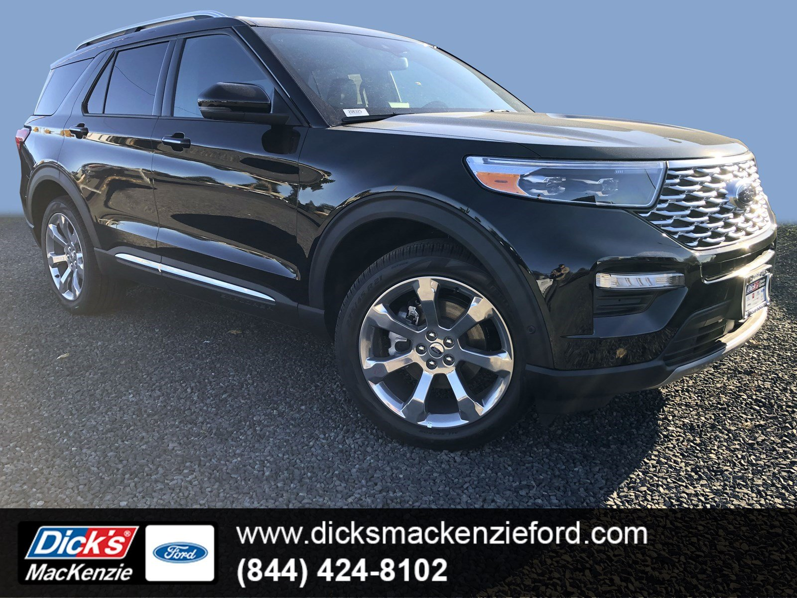 New 2020 Ford Explorer Platinum 4wd With Navigation 4wd
