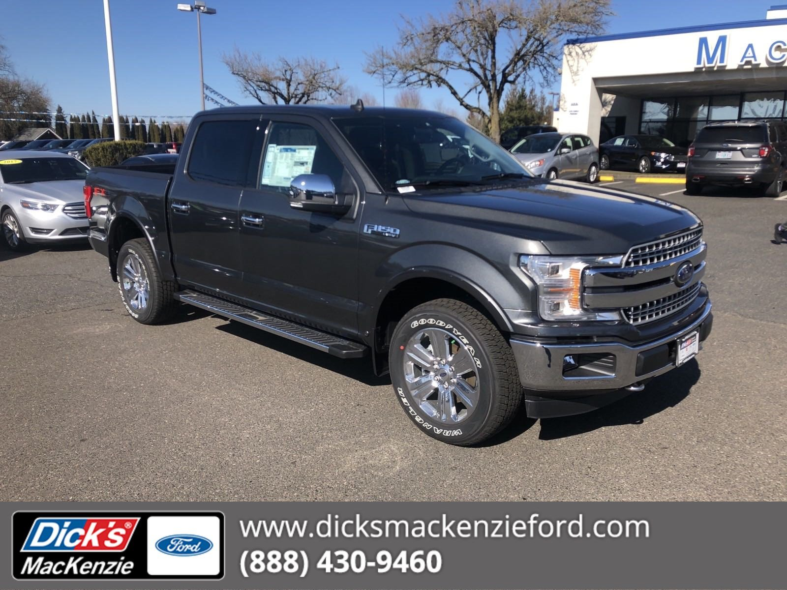 New 2019 Ford F 150 Lariat 4wd Crew145