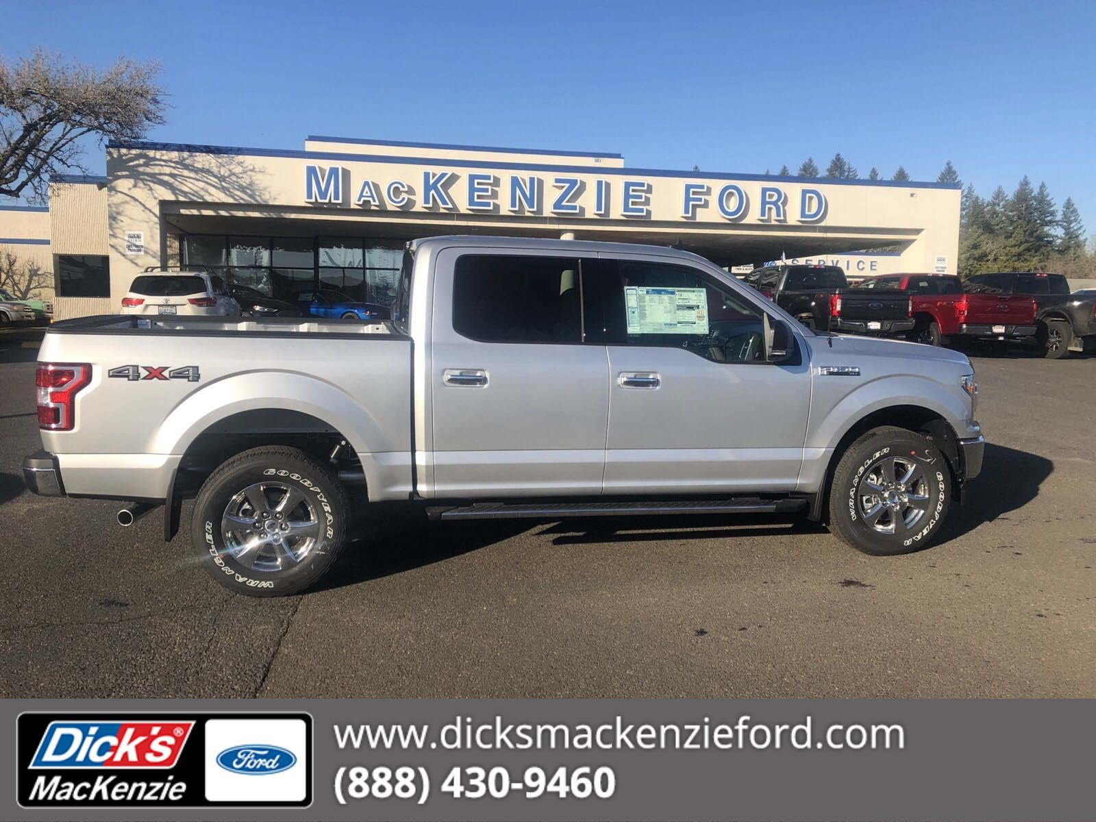 New 2019 Ford F 150 Xlt 4wd Crew145