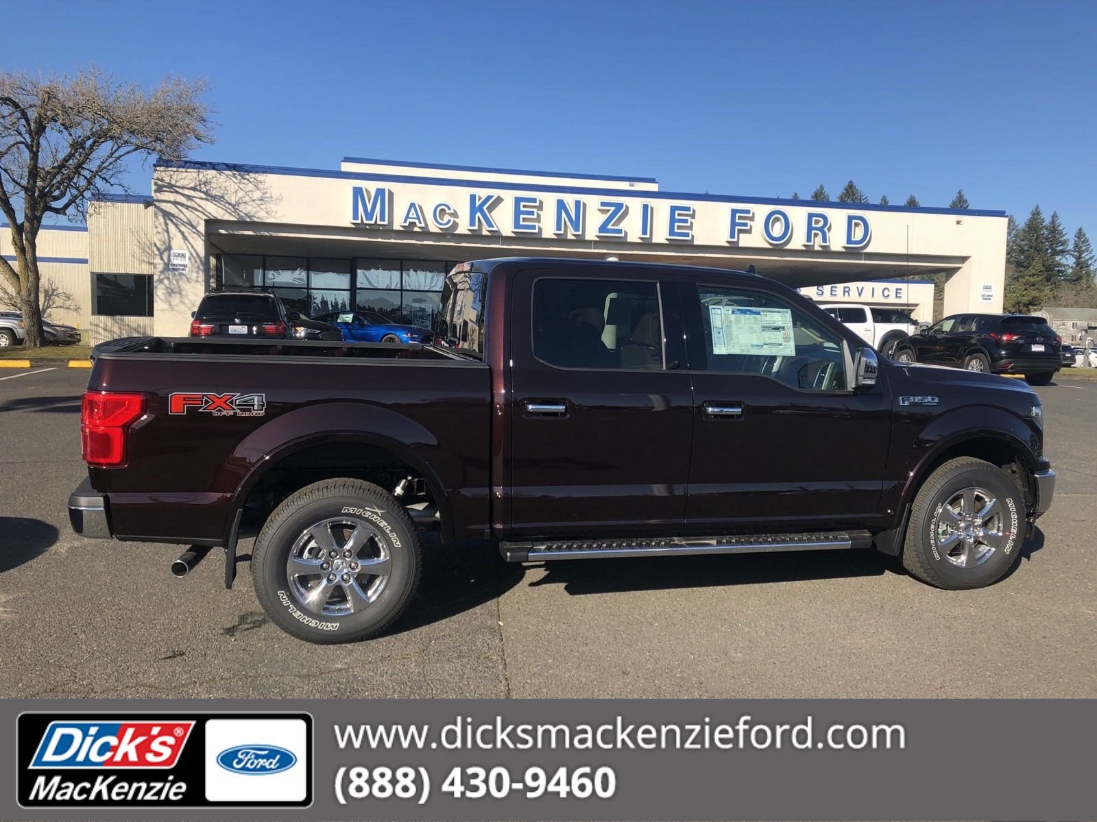 New 2018 Ford F 150 Lariat 4wd Crew 145
