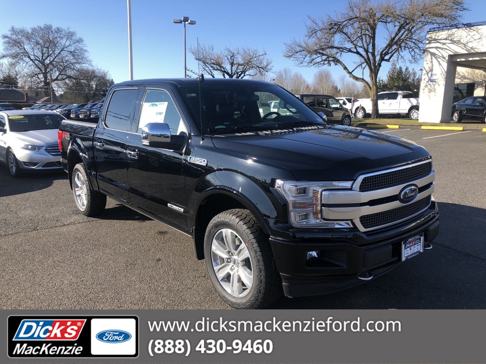 New 2018 Ford F 150 Platinum 4wd 145
